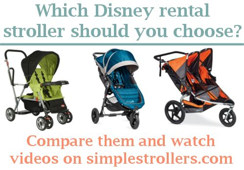 Which Disney rental stroller should you choose? What stroller is best for Disney? Compare them each and watch video demos at simplestrollers.com.