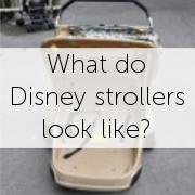 What do Disney rental strollers look like? by simplestrollerrental.com.