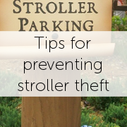 Tips for preventing stroller theft on your Disney, Sea World, or Universal vacation - simplestrollerrental.com