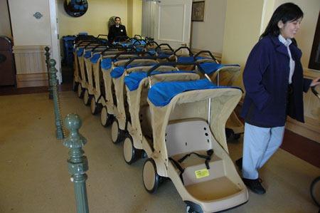 Disneyland stroller rental company